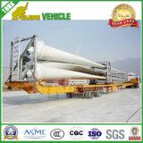 반 바람 잎 16m-45m 유압 확장 가능한 Lowbed 트럭 트레일러