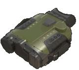 Cámara binocular refrescada voz de la vigilancia termal