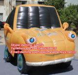 Carro inflável do projeto novo mini para a decoração do partido do tema