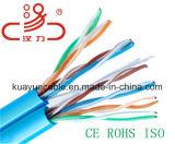 Cavo UTP Cat5e di /Network del cavo di lan 4 accoppiamenti, 8 numero UTP Cat5e, tipo del gatto 5e