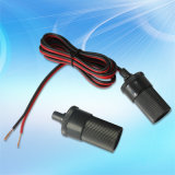 12V/24V Car Power Socket con Female Plug