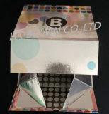 Magnetischer Falz-Funkeln-Geschenk-Luxuxkasten für Kosmetik-Set