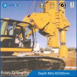Plate-forme de forage rotatoire de TR250D