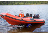 Aqualand 19feet 5.7m Rib Rescue Boat/Rigid Inflatable Patrol Boat (RIB570B)