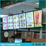 Fast Food Restaurant LED Light Box Menu Board
