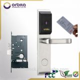 Orbita 고품질 안전 스테인리스 손잡이를 가진 전자 지능적인 호텔 카드 자물쇠