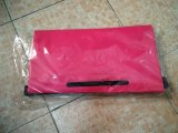 Sacchetto asciutto di marchio su ordinazione impermeabile esterno del PVC con la casella esterna della chiusura lampo