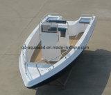 China Aqualand 21feet 6.25m Barco de pesca de fibra de vidro / Motor esportivo Barco / Pesca (205c)