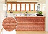 Geruchloses Schaumgummi-Backsteinmauer-Panel/Aufkleber der Dekoration-XPE
