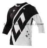 Usura di riciclaggio di sport di Motorcross di nuovo disegno bianco che corre la Jersey (MAT57)