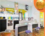 De de nieuwe Showcase/Inrichtingen van de Vertoning van de Aankomst voor het Ontwerp van de KleinhandelsWinkel Eyewear/Sunglass