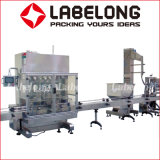 Máquina de rellenar linear del precio de fábrica para el agua mineral