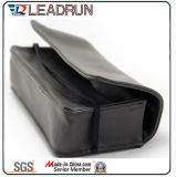 Vidrio de Sun unisex polarizado plástico de la PC del cabrito del acetato del metal del deporte de Sunglass de la manera del metal de madera de la mujer (GL59)