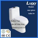 9# Ce/Sasoの証明書が付いている衛生製品のための浴室の陶磁器のトイレの水を流すワンピースストラップのサイフォンのジェット機