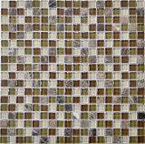 Het Mozaïek van de Steen van de Mengeling van het glas voor de Decoratie van de Muur van de Keuken
