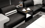 Софа кожи комнаты самомоднейшей домашней мебели живущий установила (HC1040)