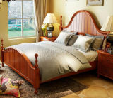 Festes hölzernes Bett-moderne doppelte Betten (M-X2256)