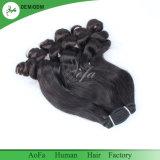 Cheveux humains normaux de la couleur 100% de mode de Fumi de cheveu neuf de Vierge