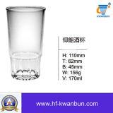 Tazza di vetro bevente con la cristalleria Kb-Hn0235 di marca del cliente