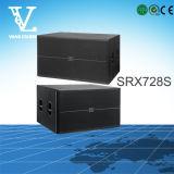 Srx728s doppelter 18inch passiver Subwoofer Bass-Lautsprecher