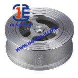 Valvola di ritenuta del acciaio al carbonio della cialda della molla di API/DIN/acciaio inossidabile
