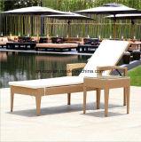 Кровать 2017 Sun ротанга мебели плавательного бассеина гостиницы (T511)