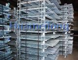 Сваренный большой штабелируя твердый контейнер ячеистой сети