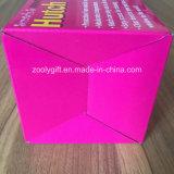 Caisse d'emballage pliable ondulée d'impression ondulée de cadre d'E-Cannelure pour l'huche Hugger