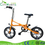 16 인치 단 하나 속도 탄소 강철 X 모양 소형 소형 자전거 자전거