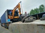Excavatrice chaude chinoise de roue de vente avec l'OIN de la CE