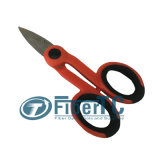 Tesouras óticas do cortador do cabo da fibra para tesouras de Kevlar da fibra óptica