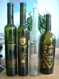 375ml темнота - бутылка вина льда зеленого стекла