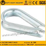 頑丈な可鍛性鋳造物ワイヤーロープの指ぬき