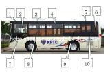 Pieza de automóvil, Bus Parte, Spare Parte, Bus Spare Parte (SC6910), Chana Bus Bus Parte para Chang un Bus