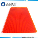 Colored Hollow Polycarbonate Roofing Sheet with SGS Certification