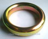 Anello ovale ed Octagonal del metallo