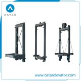 1:1、2:1の乗客のエレベーター車フレーム、エレベーターをロープをかけることは分ける(OS44)