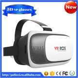Version di plastica focale e Pupil Distance Adjustment Google Cardboard 3D Vr Virtual Reality Headset Video Movie Game Glasses con Qr Code per Smartphpne