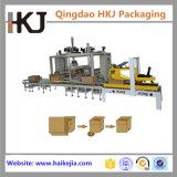 Lacre automático del rectángulo de los cartones y empaquetadora para el bolso del alimento