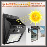 조정가능한 광도 기능 (SH-2006A)를 가진 20 SMD LED 태양 센서 빛