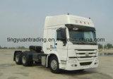 40 Tonners de Op zwaar werk berekende Vrachtwagen van de Tractor van de Vrachtwagen HOWO