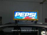 Visualización de LED publicitaria a todo color superior del taxi del taxi de P3 Suráfrica