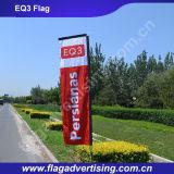 Флаг 100% пляжа полиэфира MOQ 1PC изготовленный на заказ, флаг стойки, рекламируя флаг
