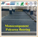 Cn-C03 roulent facilement le plancher Monocomponent de Polyurea d'enduit