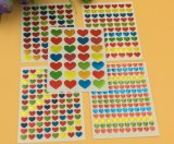 Buntes Drucken scherzt DIY Dekoration-Aufkleber