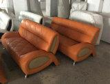Sofá moderno do couro do estilo, sofá do modelo novo (811)