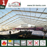 Шатер Tranpsarent большой с стеклянными стенами для ежегодной конференции компании