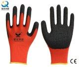 gant protecteur enduit par latex de travail de sûreté de gants d'interpréteur de commandes interactif du polyester 13G