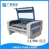 Máquina de gravura do laser para a matéria têxtil