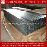 Chapas de aço galvanizadas da telhadura ondulada do material de telhadura